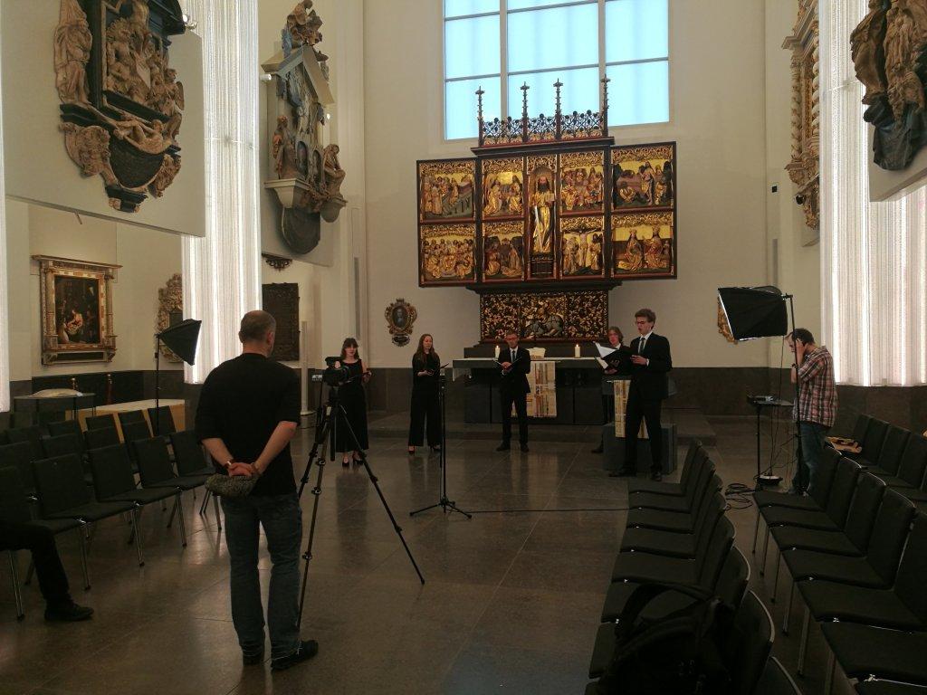 voicemade Streamaufnahme Unikirche 2020